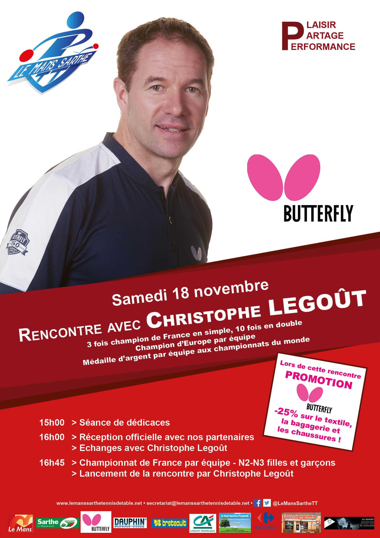 Soirée Christophe Legoût / BUTTERFLY