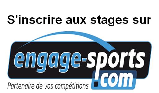 Inscription en ligne Stage de Noël- 09 au 12 avril sur Engage-Sports.com
