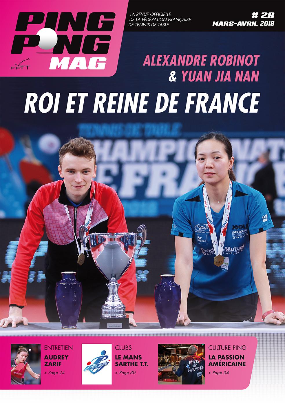 Article Ping Pong Mag : Le Mans Sarthe Tennis de Table