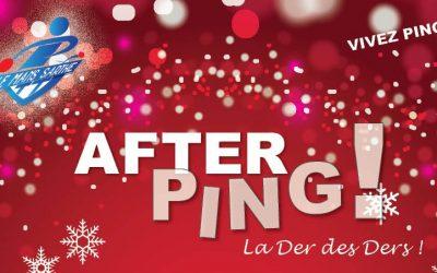 "AFTER PING ""La Der des Ders"""