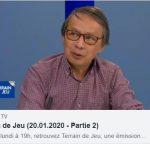 """Reportage """"Terrain de jeu"""" du 20-01-2020"""