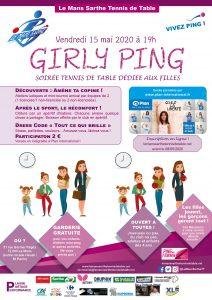 Soirée Girly Ping @ Nouvelle salle de tennis de table