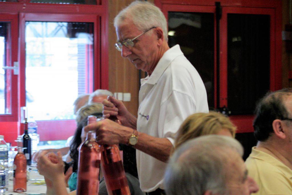 Photo prise lors de la soirée de 65 ans de l'ASL.