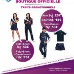 Promotion boutique officielle