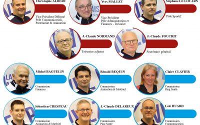 Nouveaux Comité Directeur et équipes techniques