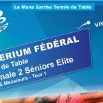Critérium Fédéral Tour 1 – N2 Élite Séniors : Les résultats