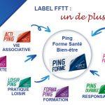 10ème label FFTT : Ping Forme SANTE BIEN-ETRE !