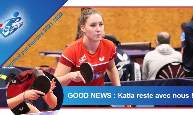 Katia continue l'aventure !
